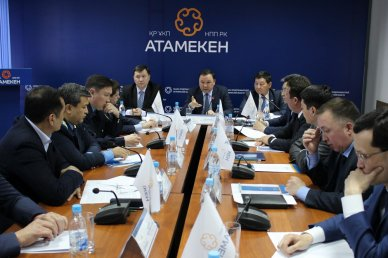 At the meeting with local business community of Aktobe region -   28.04.2018