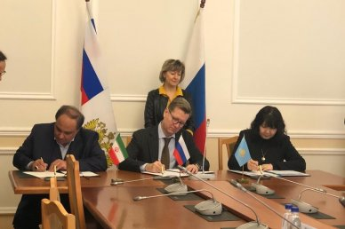 Kazakhstan, Iran and Russia sign MoU on wheat trade