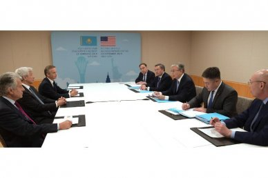Tokayev: Trade-economic and investment cooperation between the USA and Kazakhstan significantly strengthened